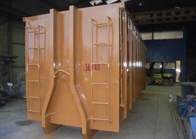 Réparation barreaux d'échelle
