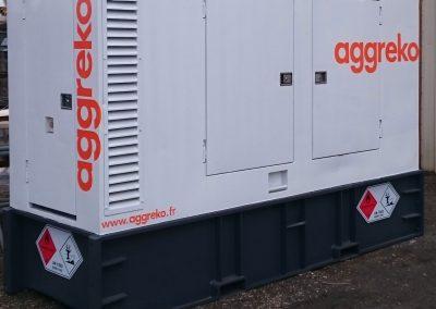 Remplacement de portes Groupe Electrogène
